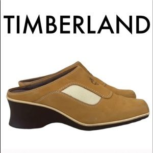 👑 TIMBERLAND WEDGE CLOGS 💯AUTHENTIC